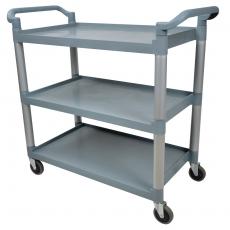 Wózek kelnerski 3-półkowy z tworzywa FORGAST<br />model: FG01004<br />producent: Forgast