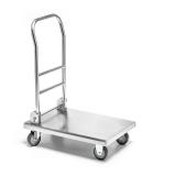 Wózek platformowy nierdzewny składany FORGAST FG01200