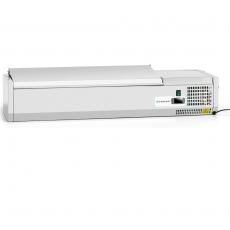 Nadstawa chłodnicza z pokrywą Forgast 5 GN 1/4<br />model: FG07305<br />producent: Forgast