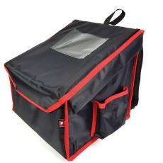 Plecak termiczny na pizzę - 4 pudłka 35x35 cm<br />model: plecakS4/N<br />producent: Furmis