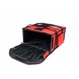 Torba termiczna na pizzę - 4 pudełka 40x40 cm / model - T4M/N