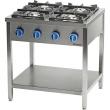 Kuchnia gastronomiczna gazowa 4-palnikowa 979513