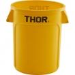 Pojemnik na odpadki 38 l żółty 068041