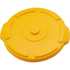 Pokrywa żółta do pojemnika na odpadki 38 l<br />model: 068045<br />producent: Stalgast