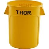 Pojemnik na odpadki 120 l żółty 068125