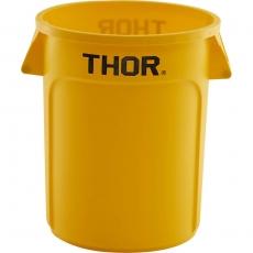 Pojemnik na odpadki 120 l żółty<br />model: 068125<br />producent: Stalgast