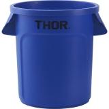 Pojemnik na odpadki 120 l niebieski 068126