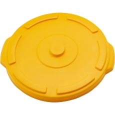 Pokrywa żółta do pojemnika na odpadki 120 l<br />model: 068135<br />producent: Stalgast