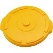 Pokrywa żółta do pojemnika na odpadki 120 l 068135