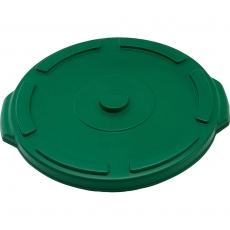 Pokrywa zielona do pojemnika na odpadki 120 l<br />model: 068137<br />producent: Stalgast