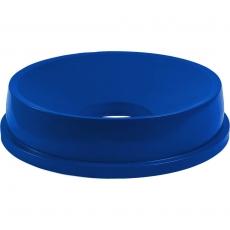 Pokrywa niebieska z otworem do pojemnika na odpadki 120 l<br />model: 068146<br />producent: Stalgast