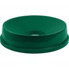 Pokrywa zielona z otworem do pojemnika na odpadki 120 l<br />model: 068147<br />producent: Stalgast