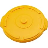 Pokrywa żółta do pojemnika na odpadki 75 l 068761