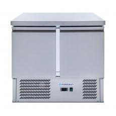 Stół chłodniczy 2-drzwiowy z agregatem dolnym<br />model: FG07002/W<br />producent: Forgast
