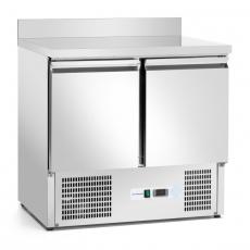 Stół chłodniczy 2-drzwiowy z agregatem dolnym<br />model: FG14002/FG07002<br />producent: Forgast