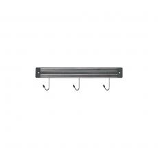 Listwa magnetyczna z haczykami dł. 33 cm<br />model: 248308<br />producent: Stalgast