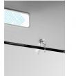 Szafa chłodnicza nierdzewna 2-drzwiowa GN 2/1 FG07014