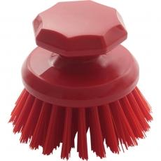 Ręczna szczotka okrągła czerwona śr. 10 cm<br />model: 622333<br />producent: Stalgast
