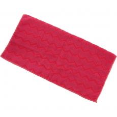 Ścierka z mikrofibry, uniwersalna, czerwona<br />model: 664813<br />producent: Stalgast
