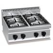 Kuchnia gazowa 4-palnikowa nastawna PC7007