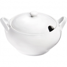 Waza do zupy porcelanowa Isabell 3,5 l<br />model: 388170<br />producent: Stalgast