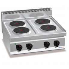 Kuchnia elektryczna 4-płytowa nastawna<br />model: PC7016<br />producent: ProfiChef