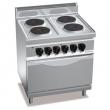 Kuchnia elektryczna 4-płytowa z piekarnikiem GN 2/1PC7006