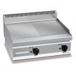 Płyta grillowa gładko-ryflowana elektryczna nastawna PC7013