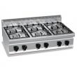 Kuchnia gazowa 6-palnikowa nastawna PC7012