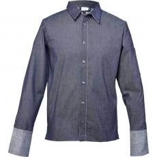 Bluza kucharska z jeansu niebieska rozmiar L<br />model: 634094<br />producent: Stalgast