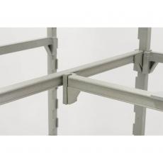 Łącznik do regałów narożnych z polipropylenu<br />model: 683000<br />producent: Stalgast