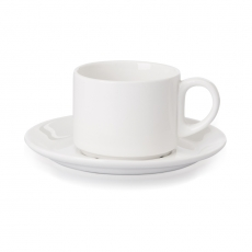 Spodek do filiżanki espresso porcelanowy Modermo Prima<br />model: MP022<br />producent: Modermo