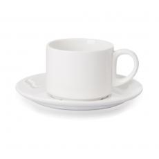 Spodek do filiżanki espresso porcelanowy Modermo Prima<br />model: MP022<br />producent: Modermo