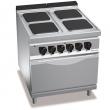 Kuchnia elektryczna 4-płytowa z piekarnikiem GN 2/1 PC9008