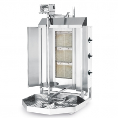 Kebab gazowy Profi Line<br />model: 143087<br />producent: Hendi