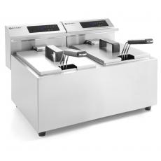 Frytownica elektryczna z panelem cyfrowym Mastercook - 2x8 l<br />model: 207352<br />producent: Hendi
