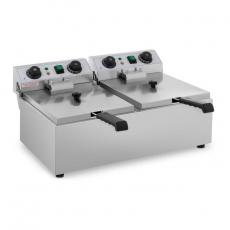 Frytownica elektryczna RCTF 10DB 2x10 l<br />model: 10011147<br />producent: Royal Catering