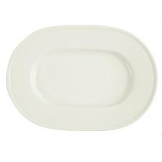 Półmisek porcelanowy owalny śr. 28 cm Line<br />model: 04ALM002793<br />producent: Porland