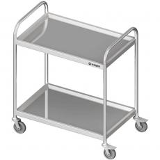 Wózek kelnerski nierdzewny 2-półkowy<br />model: 982026090<br />producent: Stalgast