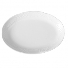 Półmisek owalny porcelanowy 23x15 cm Palazzo<br />model: 773635<br />producent: Fine Dine