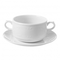 Bulionówka porcelanowa poj. 250 ml Palazzo<br />model: 773710<br />producent: Fine Dine