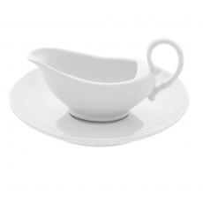 Sosjerka porcelanowa, poj. 100 ml Classic<br />model: 773963<br />producent: Fine Dine
