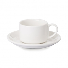 Filiżanka sztaplowana espresso porcelanowa Modermo Prima<br />model: MP004<br />producent: Modermo