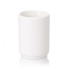Pojemnik na wykałaczki porcelanowy Modermo Prima wys. 6 cm<br />model: MP014<br />producent: Modermo