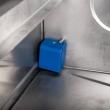 Zmywarka do szkła 400x400 z dozownikiem płynu myjącego i pompą zrzutową, 801401