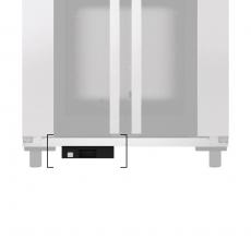 Pojemnik na wodę montowany pod komorą wzrostową BAKERLUX SHOP.Pro 60x40 cm<br />model: 908860<br />producent: Stalgast