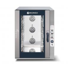 Piec konwekcyjno-parowy HENDI NANO 12xGN1/1 - sterowanie elektroniczne<br />model: 223086<br />producent: Hendi