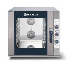 Piec konwekcyjno-parowy HENDI NANO 5xGN 1/1 - sterowanie manualne<br />model: 223130<br />producent: Hendi