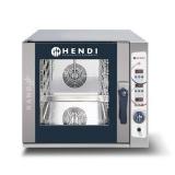 Piec konwekcyjno-parowy HENDI NANO 5x GN2/3, elektryczny, sterowanie elektroniczne, 223291