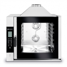 Piec konwekcyjno-parowy gazowy Touch Control 7 GN 1/1<br />model: 224700<br />producent: Hendi